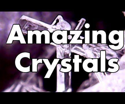 Grow Amazing Crystals in Just Hours