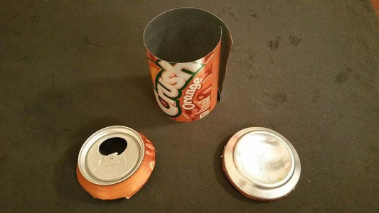 Prep and Cut Tin Cans