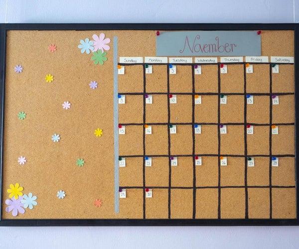 Bulletin Board Calendar Transformation!