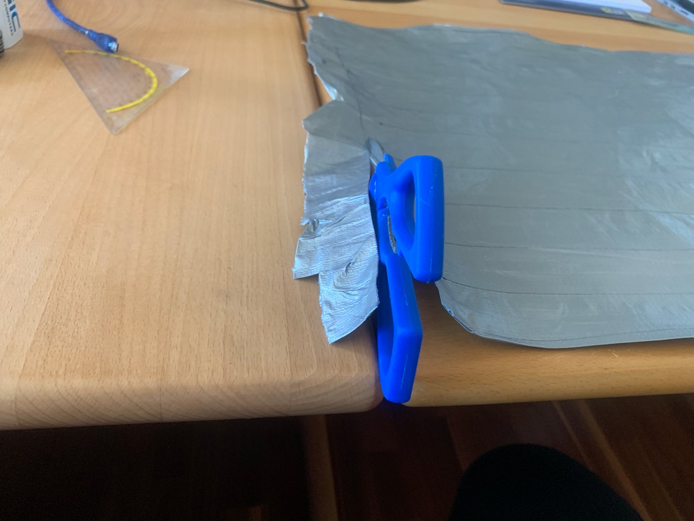 Cut the Tapefoil to the Calculated Proportions