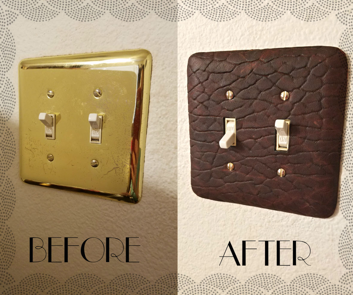 Wall Plate Leather Upgrade