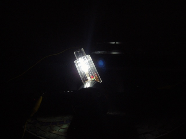 Salt Water and Aluminum Foil Night Light