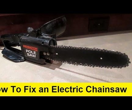 How to Fix an Electric Chainsaw
