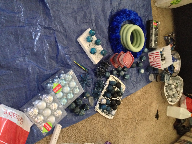 Other Wreath Ideas & Process Photos