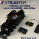 [2021] Running a Lego Compatible Train With Two (x2) Micro:bits