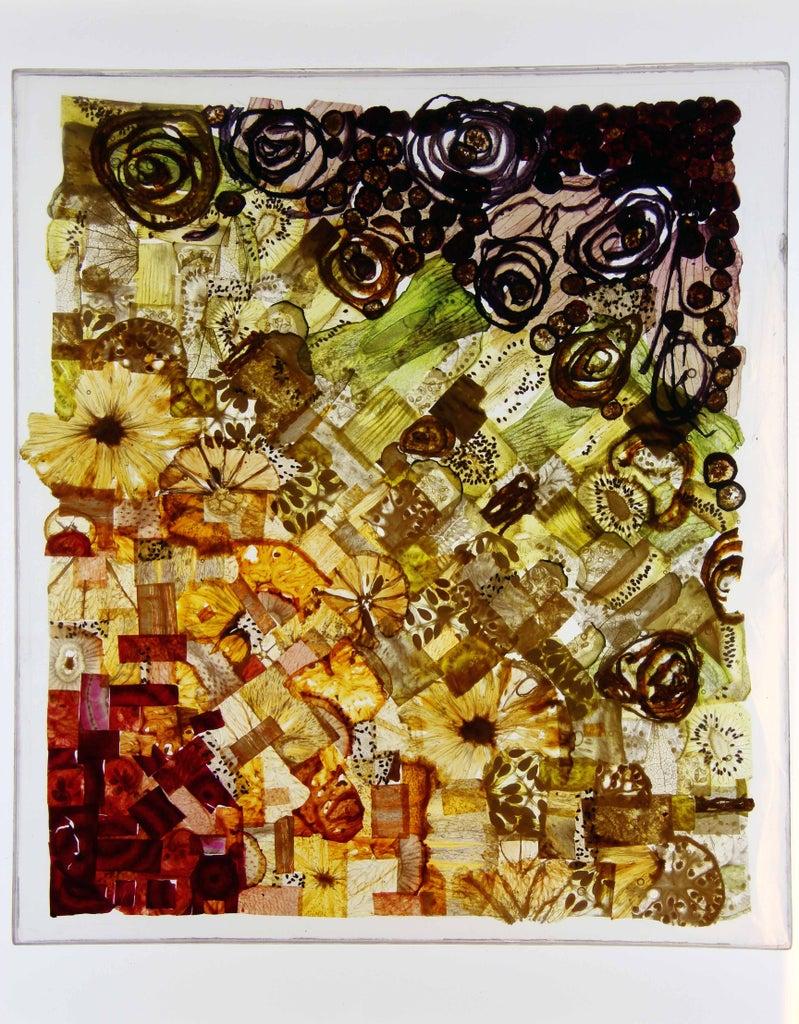 "Finished Resin ""Fruit Glass Window"""