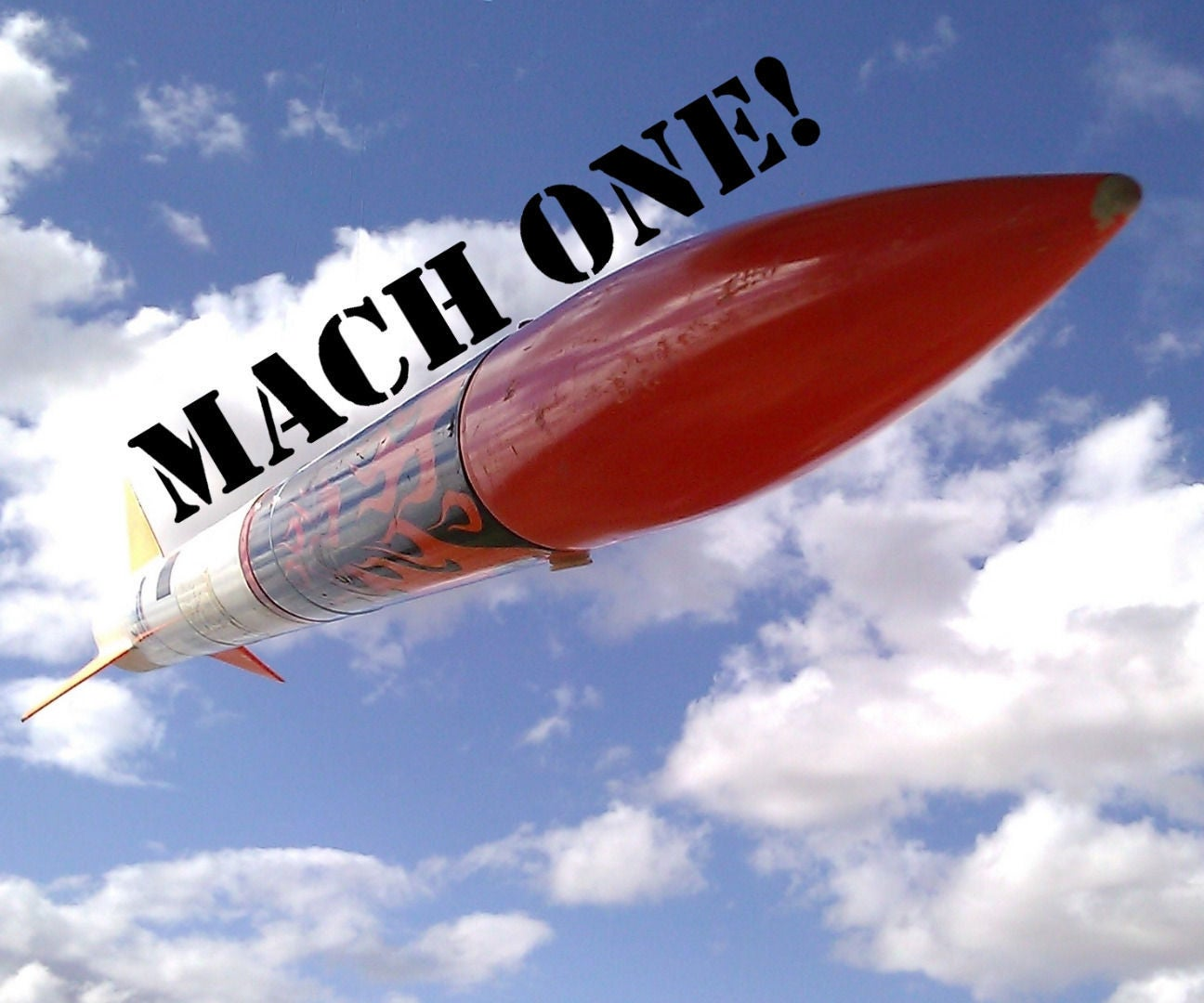 Supersonic Rocket Mach My Day 11 Steps With Pictures Instructables