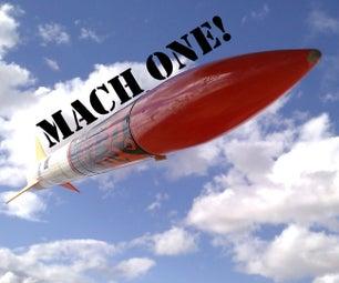 超音速火箭 - 马赫我的一天!