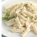 Light, Fresh and Creamy home made Alfredo Pasta
