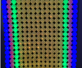 3D Printed Modular LED Wall