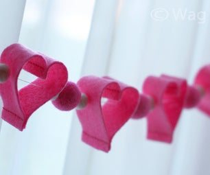 Valentines Day Garland