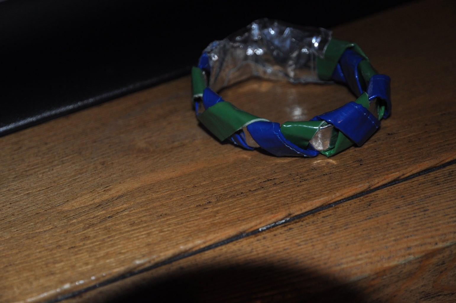 Woven Duct Tape Bracelet