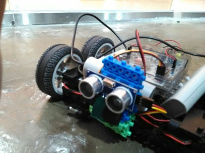Obstacle Avoiding Robot Using EBot8