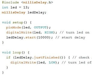 Coding Timers and Delays in Arduino