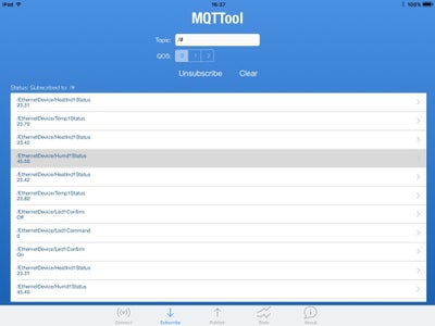 There Are IOS MQTT Clients