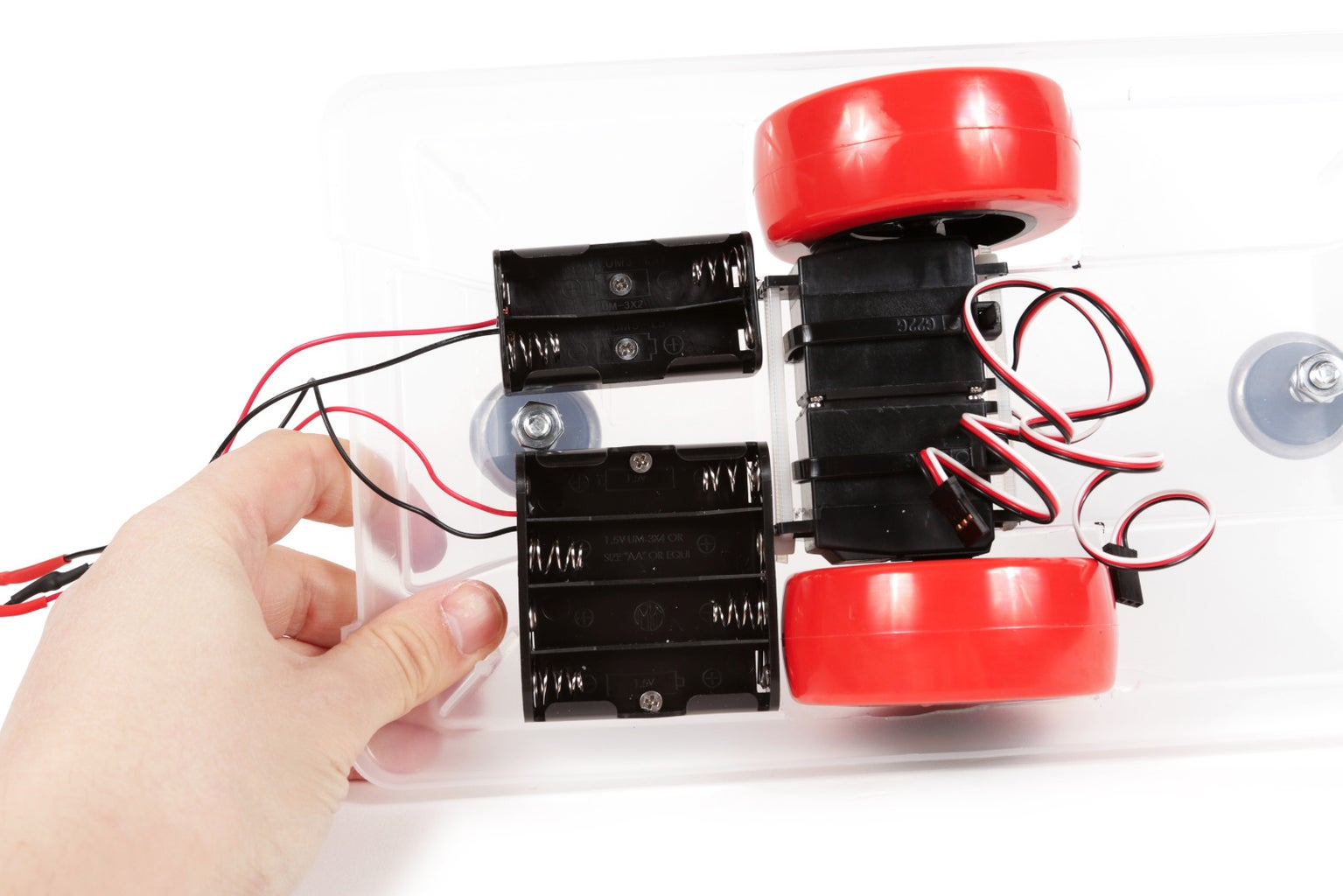 Mount the Battery Holders