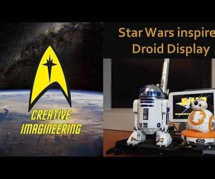Star Wars Inspired Display Stand (with a Short Fan Film!)