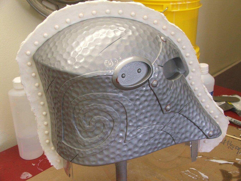 Molding the Helmet (or Armor) Part 1