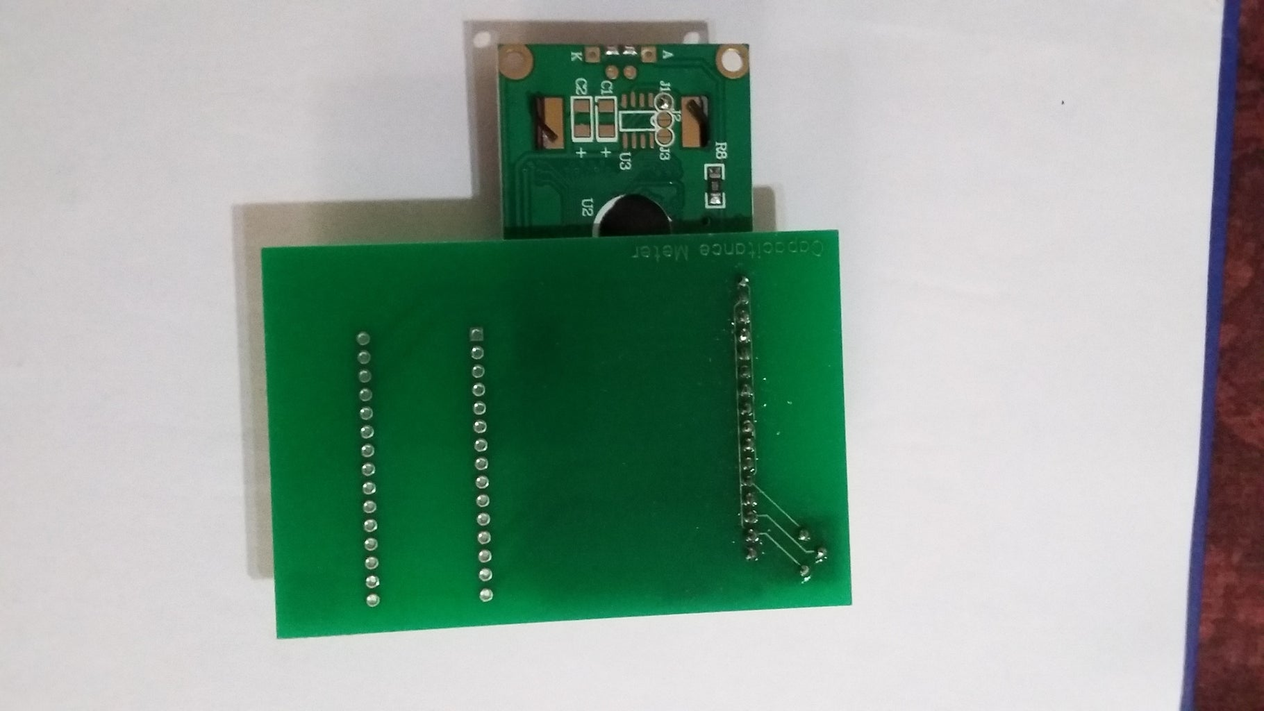 Installing the 16 X 2 LCD Display