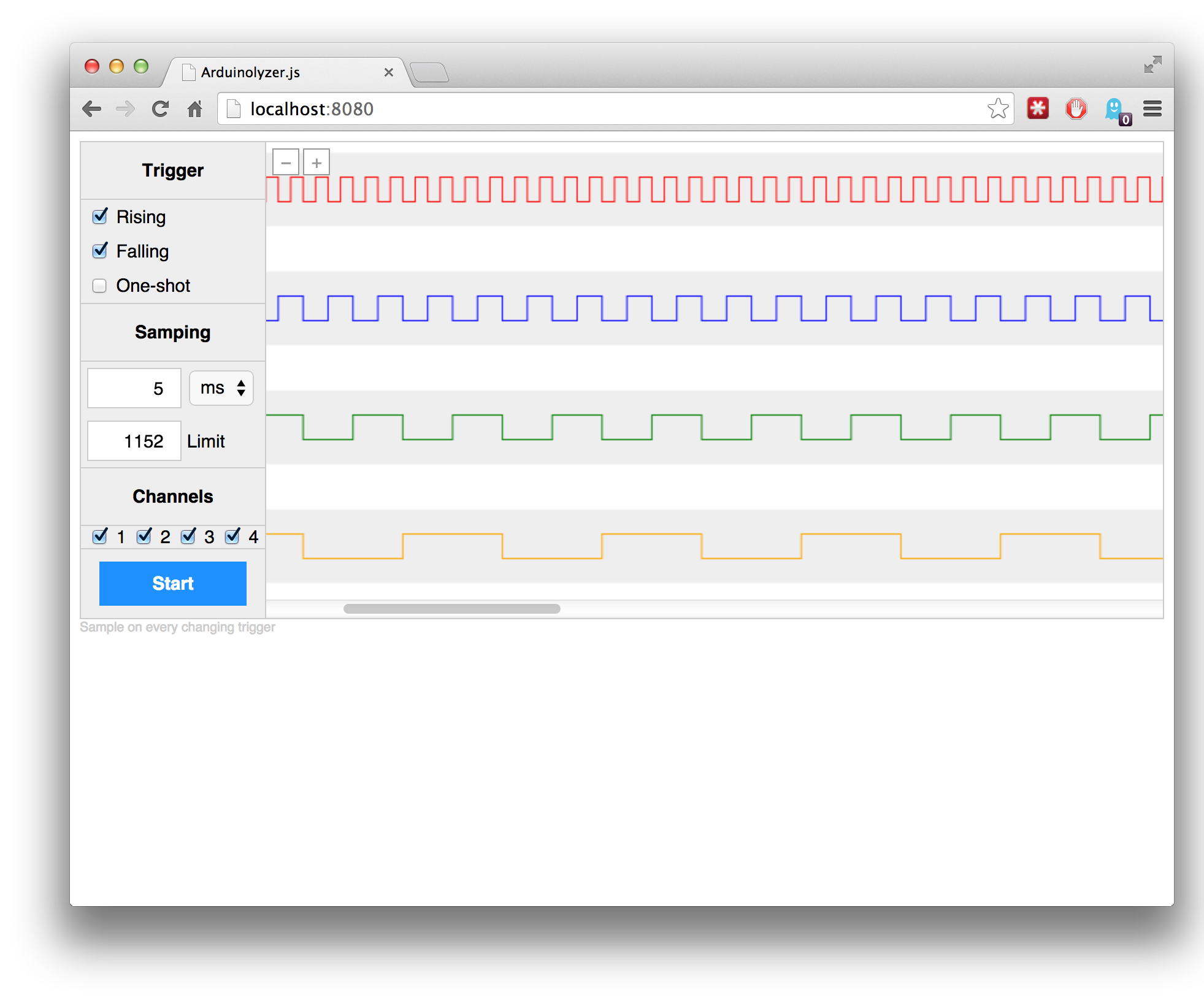 Arduinolyzer.js: Turn your Arduino into a Logic Analyzer