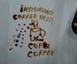 Coffee Oil Paint 3 Ingredients