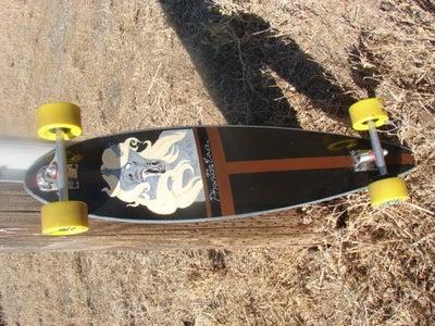 DIY Longboard Renovation