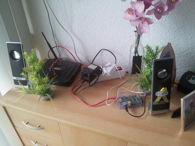 Raspberry Pi Internet Radio With Flask