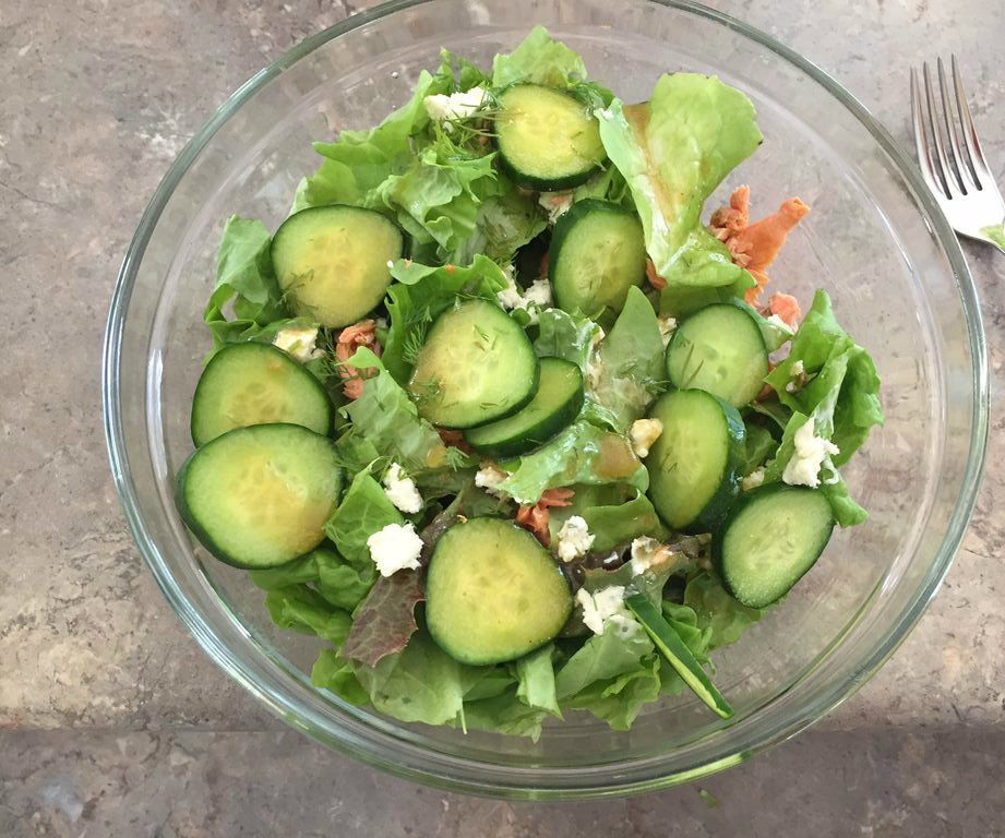 Fresh Fish Summer Salad