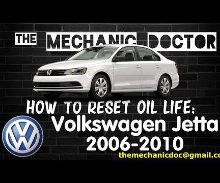 How to Reset Oil Life: Volkswagen Jetta 2006-2010