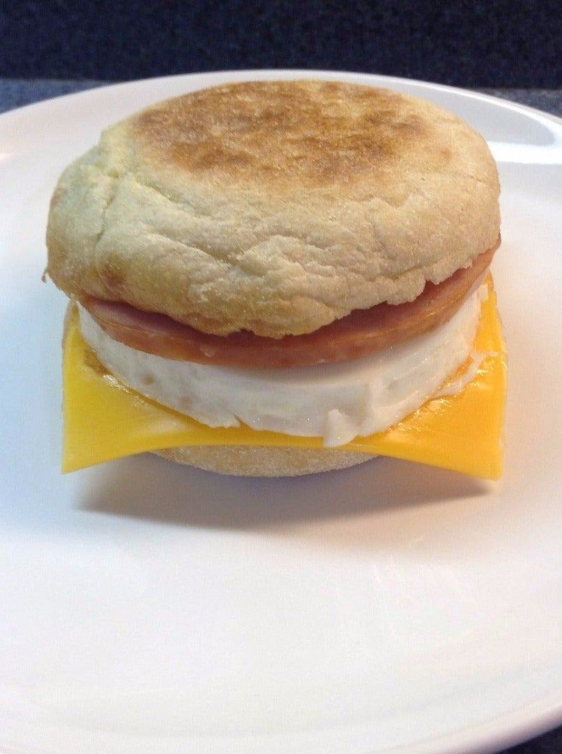 Assemble the Egg McMuffin