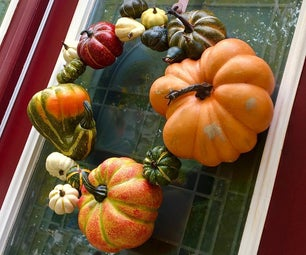 Easiest 'Forever' Gourd Wreath