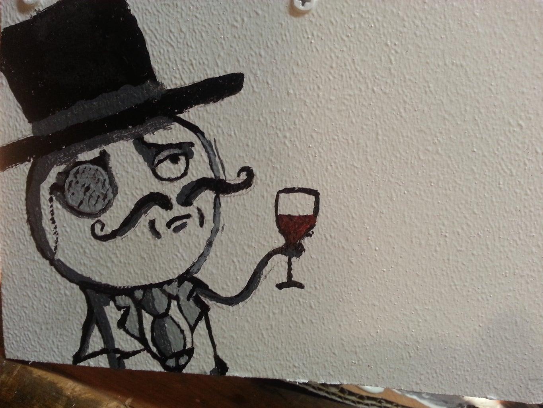 Painting Reginald