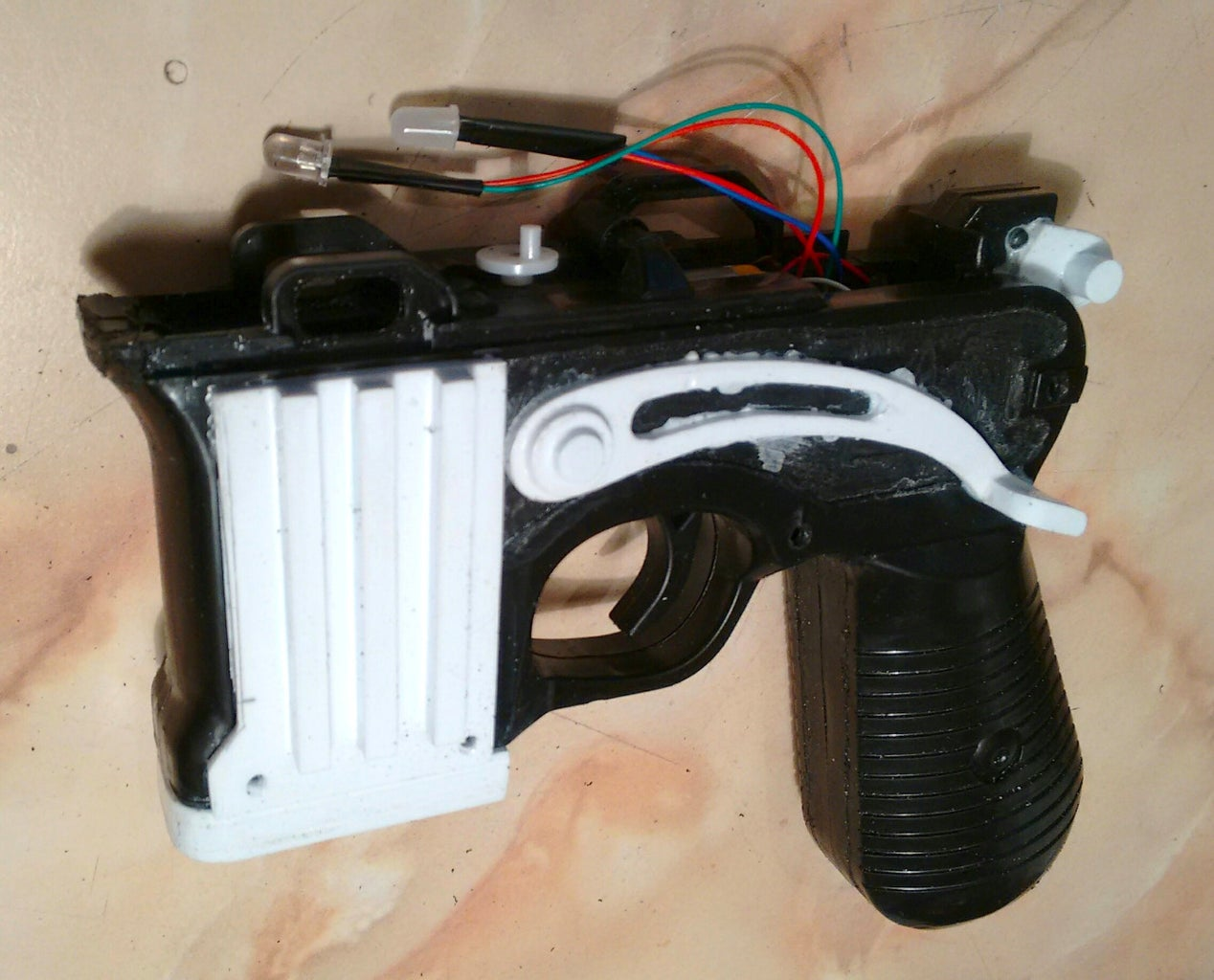 Re-assemble the Main Body, Attach the Parts, and Extend Wiring