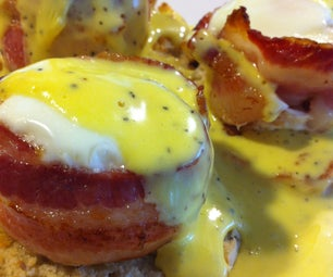 Bacon Cup Benedict