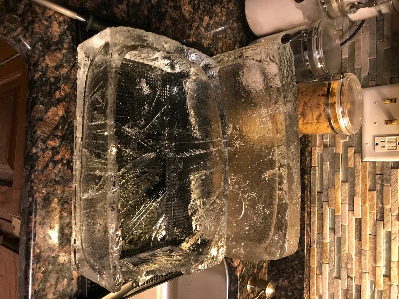 Start Carving That Ice