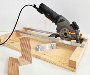 How to Make Very Simple a Circular Saw Crosscut Jig and Router Guide 2 in 1