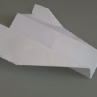 Long Distance Paper Airplane