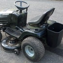 Lawn Tractor Tool Carrier