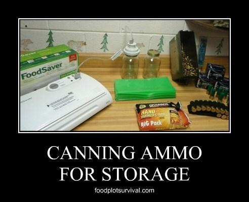 Foodsaver Ammunition Canning & Long Term Storage