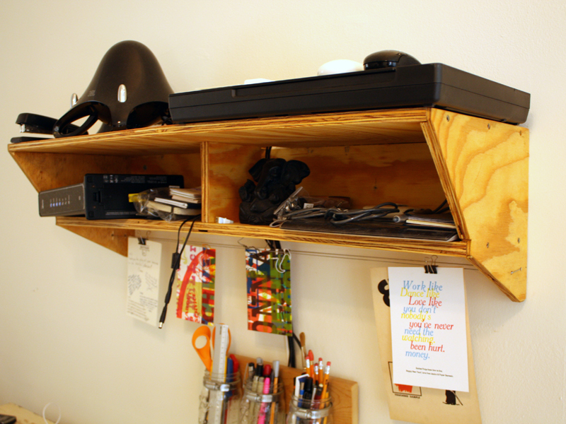 Plywood Utility Shelf