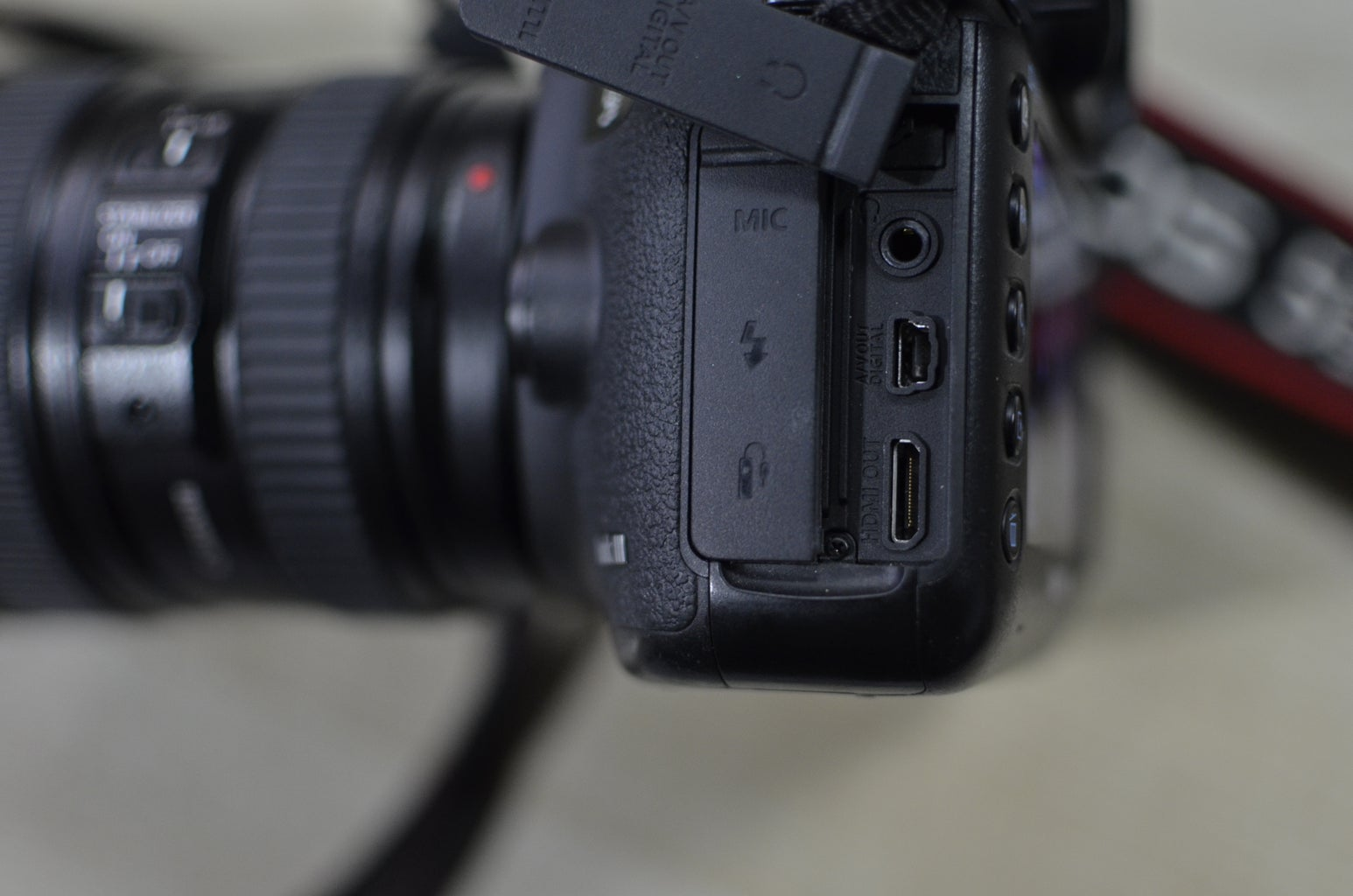 Connect It to Your Camera With HDMI Cable