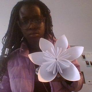 Easy DIY Origami Flower