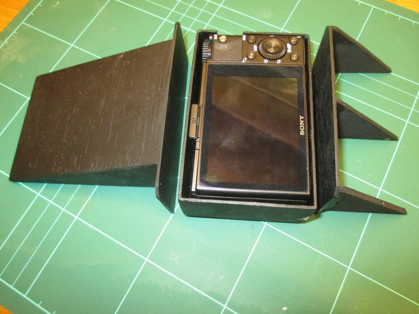 Camera Mount and Battery Tray Modifications