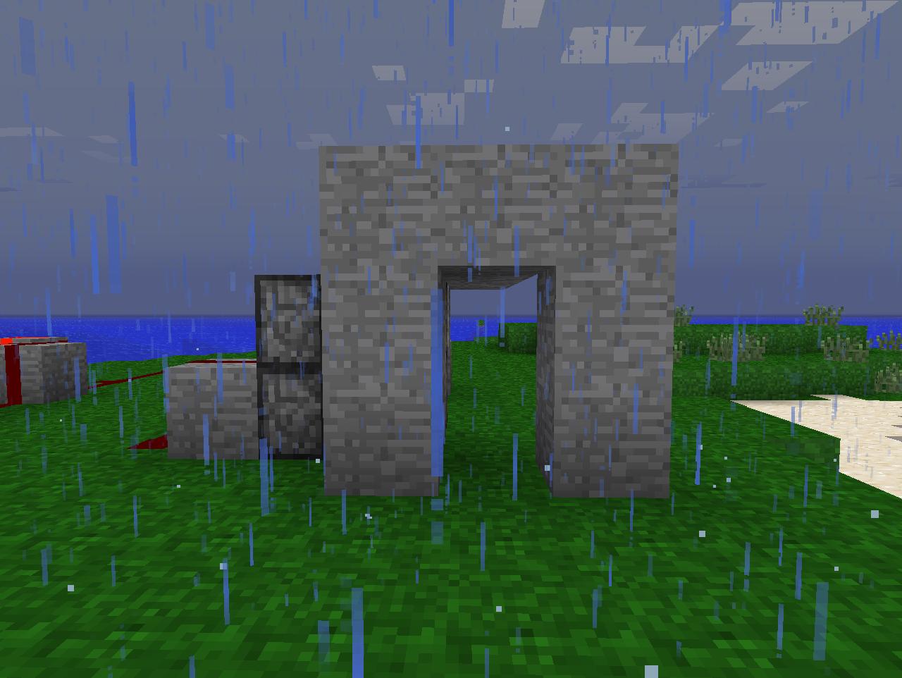 Minecraft secret wall door