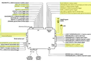 Car Remote Starter Installation! : 11 Steps - Instructables | Hyandi Remote Start Wiring Diagrams For Vehicles |  | Instructables