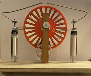 How to Build a 30 Kilovolt Wimshurst Machine!