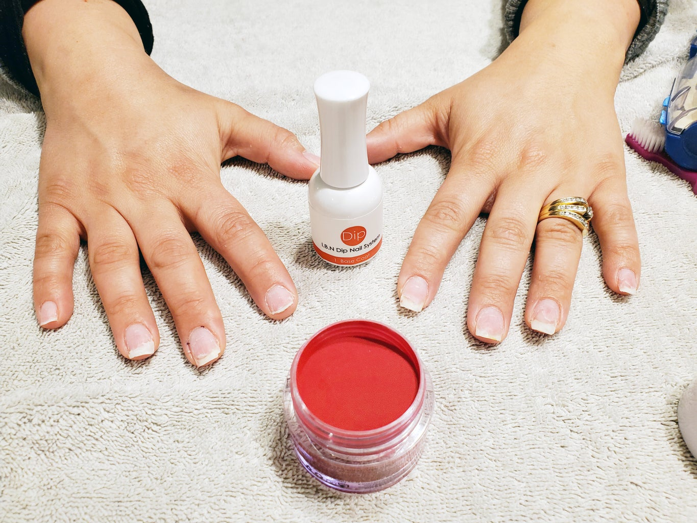 Prime and Apply Dipping Powder Color