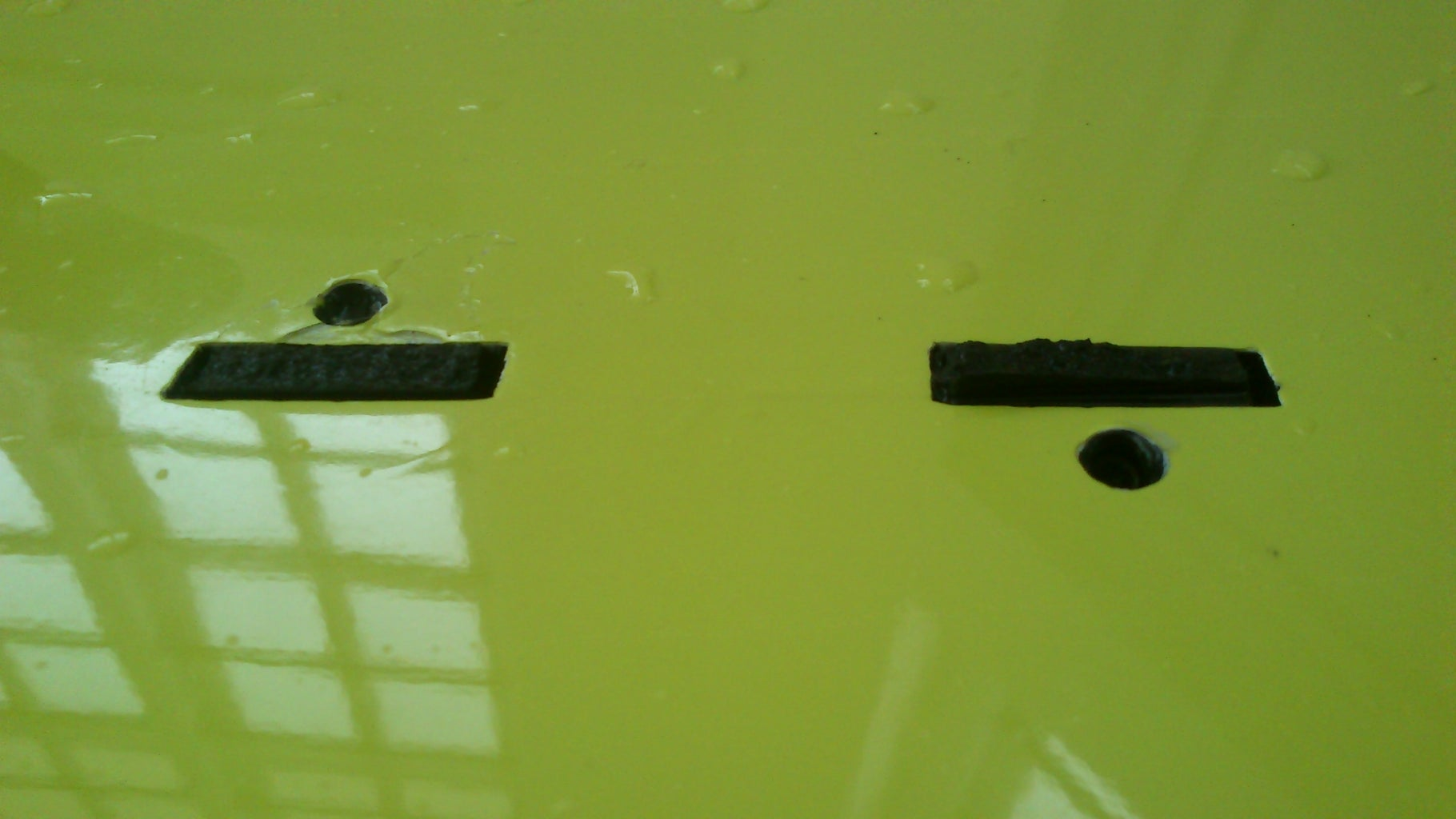 Extract Broken FCS G-5 Fin Studs From Inside the Fin Box of a Surfboard