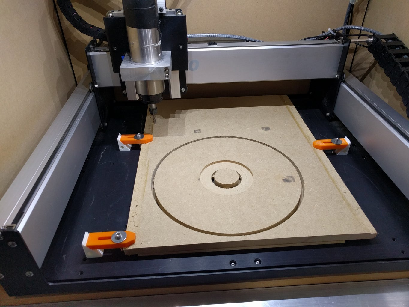 CNC/ Making the Connector Plate