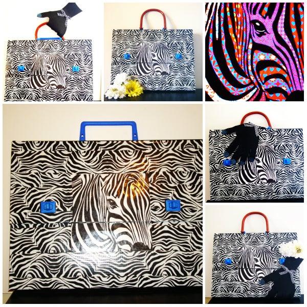 Zebra Purse, Folder, or Whatever